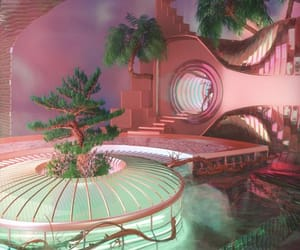 pink, aesthetic, and cool image