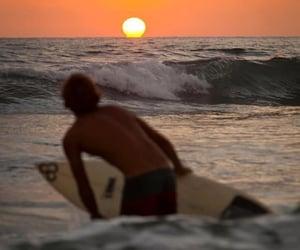 surf, boy, and surfer image