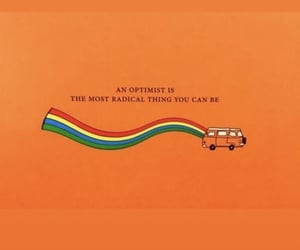 bus, rainbow, and text image