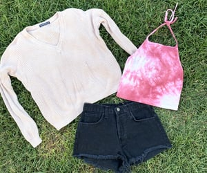 fashion, high waisted shorts, and brandy melville image