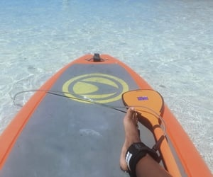 summer, travel, and water sports image