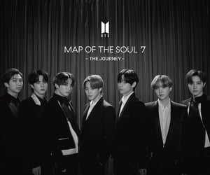 bts, bts japan, and map of the soul 7 image