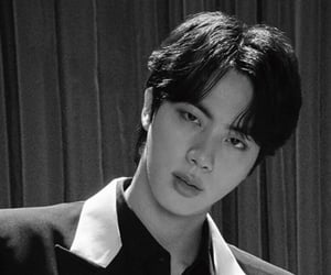 jin, bts japan, and map of the soul 7 image
