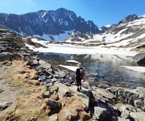 hike, lake, and tatras image