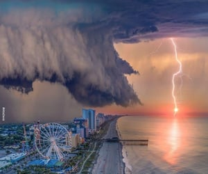 power of nature and myrtle beach-usa image