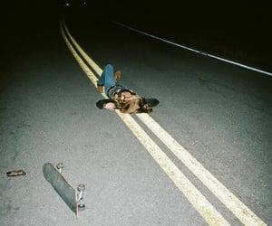 girl, grunge, and night image