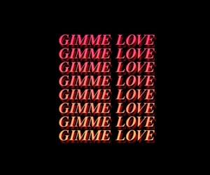 aesthetic, I Love You, and Lyrics image