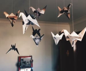 origami, art, and Paper image