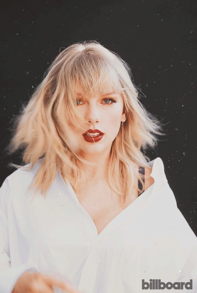 Taylor Swift, billboard, and lover image