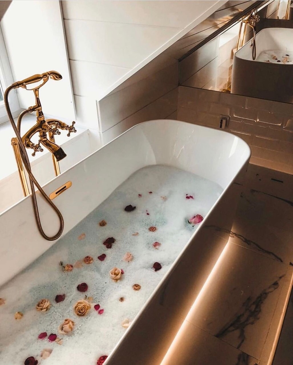 luxury, home, and bathroom image