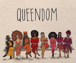 support, queendom, and black lives matter image