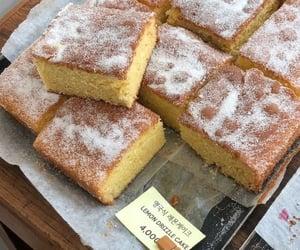 food, cake, and lemon image