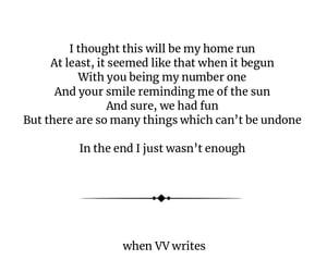 heartbreak, poem, and poetry life image