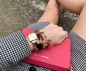 arm candy, hot pink, and long legs image