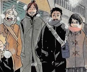 anime, haikyuu, and sugawara koushi image