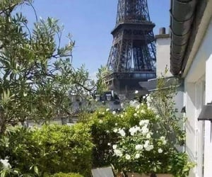balcony, france, and paris image