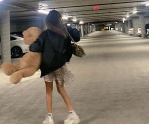 carpark and teddy bear image