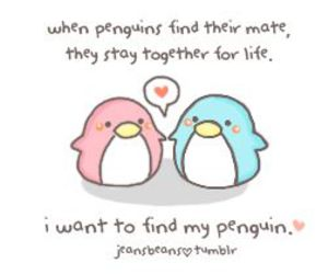 life, penguin, and for ever image