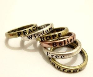 rings, free, and hope image