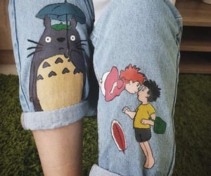 jeans and totoro image