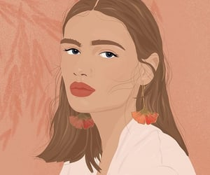 art, fashion, and flo image