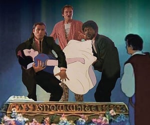 different, pulp fiction, and snowhite image