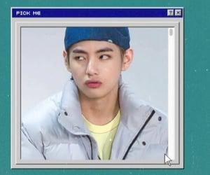aesthetic, kim taehyung, and bts edits image