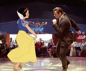 dance, different, and pulp fiction image