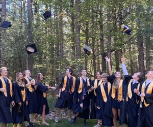 celebrate, graduation, and normalcy image