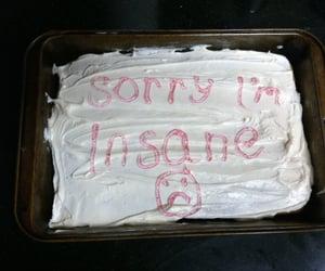 cake, insane, and grunge image