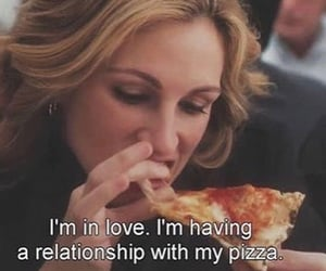 pizza, quotes, and food image