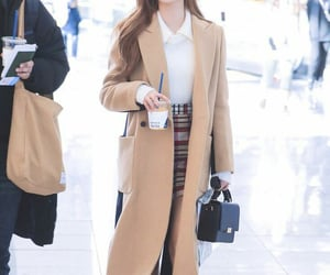 airport fashion, oh my girl, and yooa image