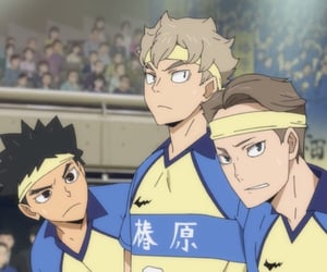 haikyuu, anime boys, and maruyama kazuki image