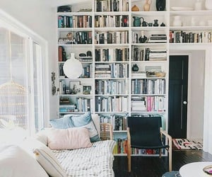 books and living room image