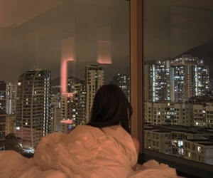 apartment, city, and cosy image
