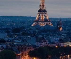 city, france, and francia image