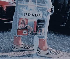 aesthetic, Prada, and vans image