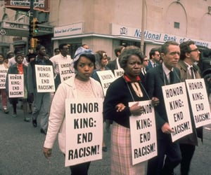 equality, protest, and racism image