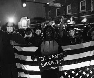 mask, black lives matter, and george floyd image