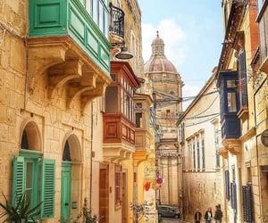 architecture, city, and malta image