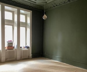 apartment, floor, and green image