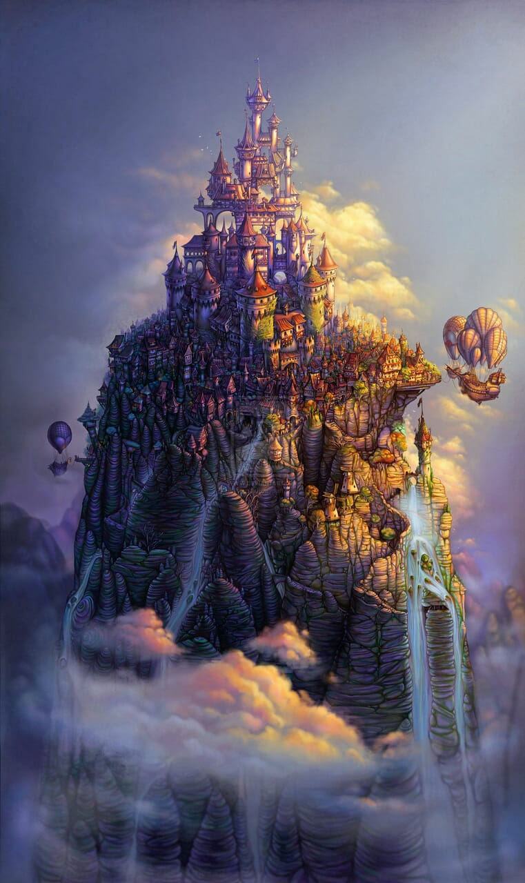 fantasy art, whimsical, and writting image