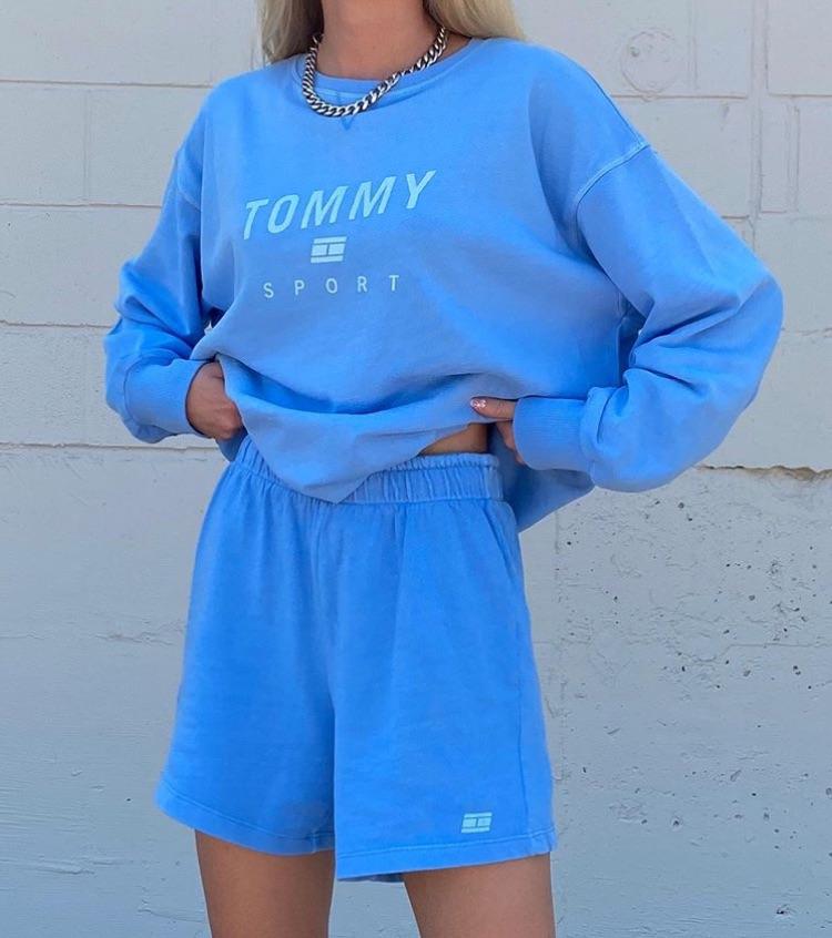 tommy hilfiger, sportswear, and fashion style mode image