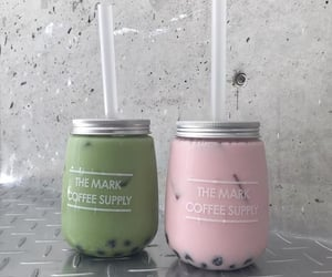 aesthetic, bubble tea, and food porn image