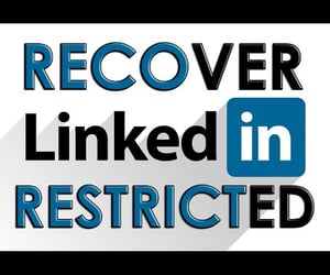 social network, video, and recover linkedin profile image