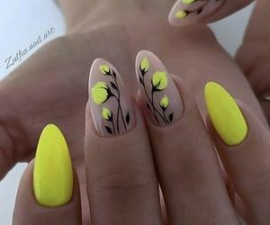 nails, uñas, and nailspolish image