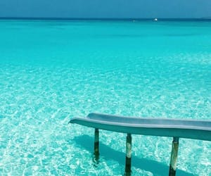 summer, beautiful, and Maldives image