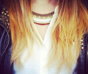 blonde, ombre hair, and fashion image