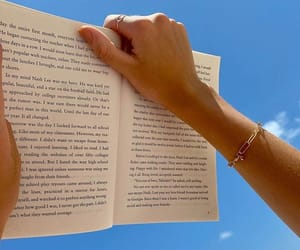 accessoires, author, and blue sky image