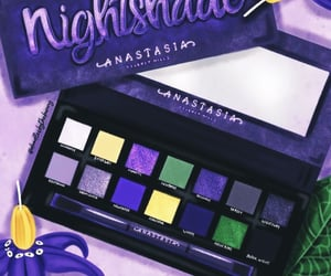 anastasia, eyeshadow, and make up image